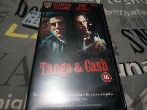 Tango And Cash ex rental  WARNER UK PAL VHS, Stallone Kurt Russell small box