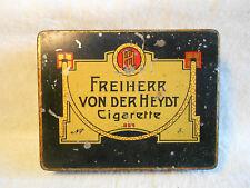 Freiherr von der Heydt alte Blechdose um 1920 Wuppertal - Elberfeld