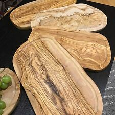 5 X  Rustic Olive Wood Chopping / Serving / Carving Board
