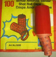 2000 Schuß Wicke Zündplättchen 20 x 100er Streifen Caps Schuß Top Knall Shot