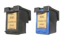 Printenviro HP 21XL Black C9351AA + HP 22XL Color C9352AA Reman Ink Cartridges