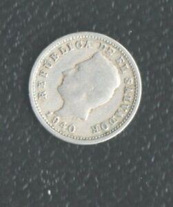 EL SALVADOR 1 CENTS 1940