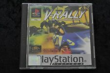 V-Rally Playstation 1 PS1 Platinum Geen Front Cover