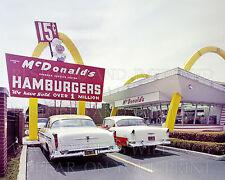 1950s McDonald's restaurant Des Plaines IL photo CHOICE 5x7 or request 8x10 or..
