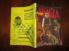 JOHNNY MANILA NUMERO 8/9 SETTEMBRE 1972 EDIZIONI CERRETTI