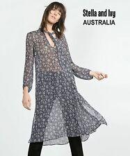 FLORAL KAFTAN BOHO DRESS SIZE 12 AU WOMENS NEW