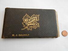 1900's Western Stoneware salesman sample book Sleepy Eye