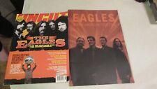 The Eagles 2002 Program & Aug 2002 Uncut Magazine.Frey.Henley.Wals h