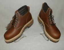 Mens Vintage Carolina #163 Made Usa Work Hunting Leather Boots Nos New Old Stock