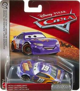 Disney Pixar Cars 3 Scavenger Hunt Special Edition Metallic Bobby Swift OG 2018