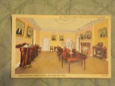 Vintage Postcard Gen. Jackson's Dining Room At The Hermitage, Nashville, Tenn.