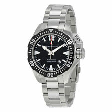 Hamilton Khaki Navy Frogman Automatic Auto Black Dial Mens Swiss Watch H77605135