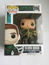 Stephen Amell GREEN ARROW signed FUNKO POP TOY Oliver Queen W/COA TV