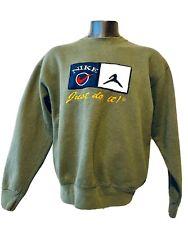 Vintage 80s 90s NIKE JORDAN Just Do It Sweatshirt Men's XL MADE IN USA RARE Jump