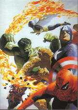 MARVEL SILVER AGE, ALEX ROSS SALUTES THE SILVER AGE CARD AR1