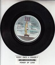 "HOT CHOCOLATE  Every 1's A Winner 7"" 45 rpm vinyl record + juke box title strip"