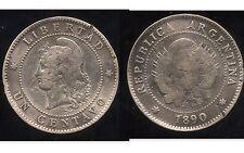 ARGENTINE 1 centavos 1890    ( bis )