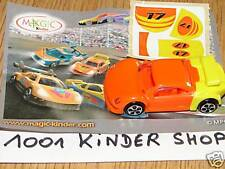 KINDER NV081 NV 81 CAR + STICKERS + BPZ VARIANTE N°17
