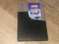 1943 w/Sleeve Nintendo Nes Authentic Near Mint Condition