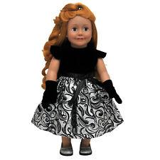 "Little Black Dress, Doll Clothes Fit 18"" Girl Dolls"