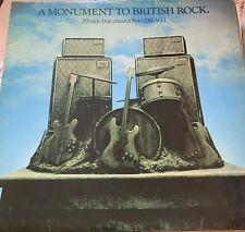 A Monument To British Rock LP Vinyl Album Long Playing Record Classic Rare