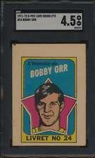 1971 Topps/OPC Booklet #24 Bobby Orr HOF  SGC 4.5  VGEX+ 52413