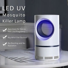 New Electric Mosquito Bug Fly Moth Killer Lamp Photocatalytic Uv Light Indoor Us