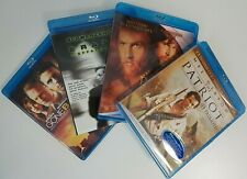 Blu-ray Action Movie Lot NEW: Patriot USED: Reign of Fire Gone Baby Gone Eraser