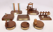 (8) Display Bases for M. I. Hummel, Precious Moments and Other Figurines Lot #3
