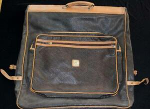 """Vintage 1980's T Lapidus Classic Garment Bag Luggage 50"""" Length X 24"""" Width"""