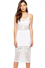 White French Connection Lucky Layer Midi Dress