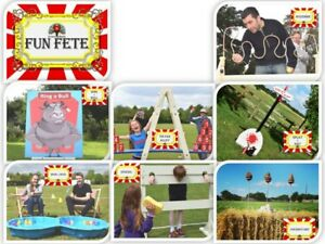 Fete games for hire. Vintage traditional stalls for weddings, parties and events