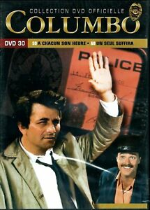 Columbo Series DVD 30 Chapters 59 Y 60 - Language French New IN Blister