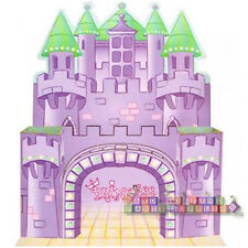 PRINCESS CASTLE UTENSIL CADDY ~Birthday Party Supplies Serveware Cutlery Storage