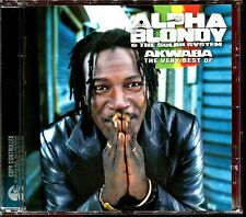 ALPHA BLONDY & THE SOLAR SYSTEM - AKWABA THE VERY BEST OF - CD ALBUM [1431]