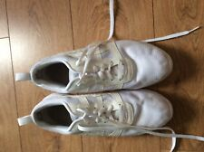 Mens White Asics Trainers Size 11