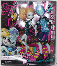 "Monster High WHEEL LOVE LAGOONA BLUE & GIL WEBBER 11"" Fashion DOLLS 2-PACK NEW"