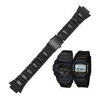 Mode Schwarz Armband Uhrenarmbänder Für G-Shock DW-6900/9600/DW5600/GW-M5610 Uhr