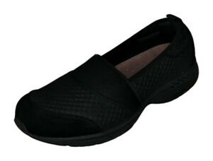 easy spirit Twist 10 Women's Sz 10 M Slip-On Sneaker Nylon Black Shoes 745098
