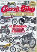 CLASSIC BIKE MAGAZINE- January 2016 Issue - (NEW COPY)