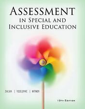Assessment : In Special and Inclusive Education by Sara Bolt, John Salvia and Ja