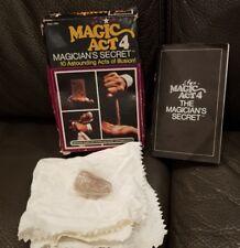 Vintage 1975 Reiss Magic Act #4 Magicians Secret