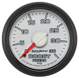 """Auto Meter 8504 2-1/16"""" Boost Gauge Gen 3 Factory Match 35PSI For Dodge NEW"""