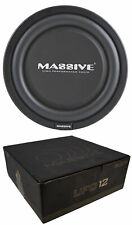 """MASSIVE 12"""" HIGH POWER LOW PROFILE CAR TRUCK 600 WATTS SHALLOW MOUNT SUB WOOFER"""
