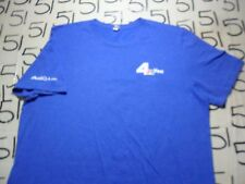 XL- NBCLA Channel 4 Canvas Brand T- Shirt