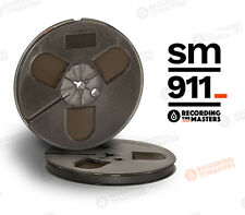 "RTM SM911 REEL TO REEL TAPE  1/4"" x 1200' ON 7"" PLASTIC REEL, FREE SHIPPING!"