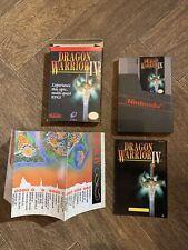 Nintendo Nes Dragon Warrior 4 CIB Maps Mint