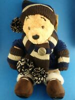 Limited Edition Winter Dress Up WINNIE THE POOH Disney Store 2005 #1019 of 3000
