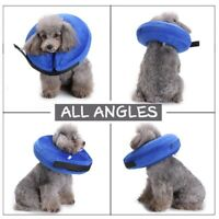 US Dog Inflatable Collar Puppy Cat E-Collar Pet Elizabethan Protection Head Cone