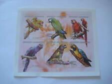 2001 Madagascar Miniature Sheet on Pet Birds: Parrots - Limited Edition Mnh